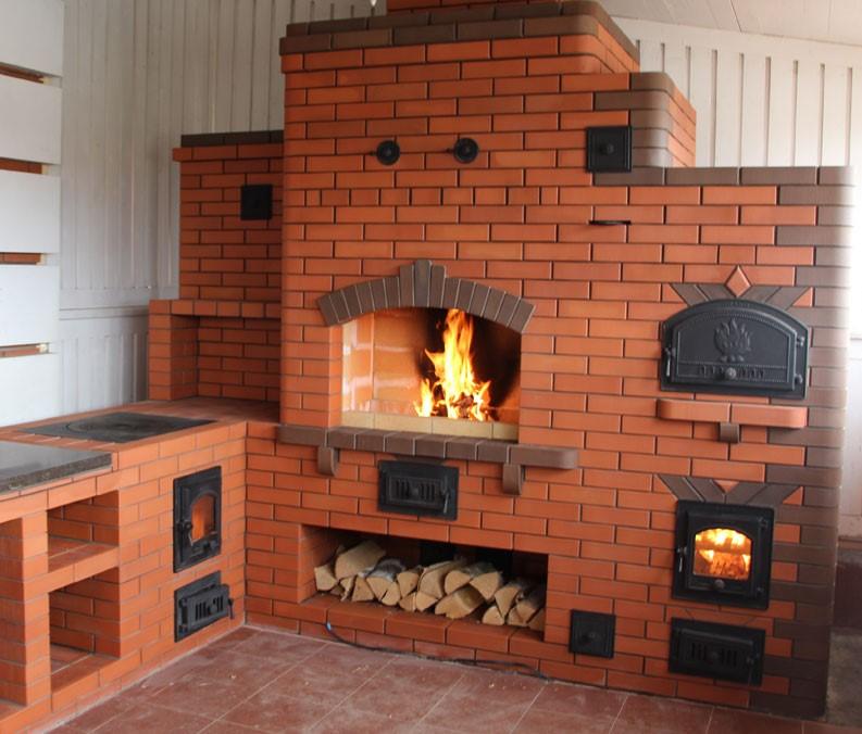 Печной комплекс с хлебной печью